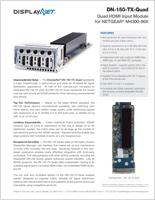 DN-150-TX-Quad Series Data Sheet