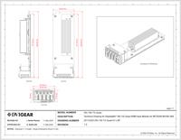 DN-150-TX-Quad Series Technical Drawing
