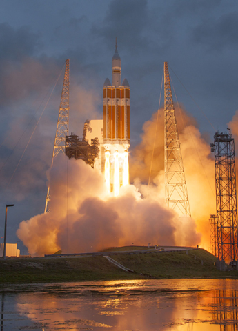 Orion Launch Photo Credit: Lockheed Martin and United Launch Alliance