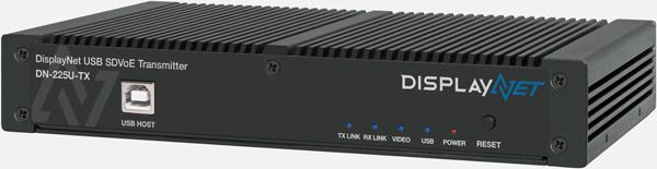 DisplayNet DN-225U-TX Front View