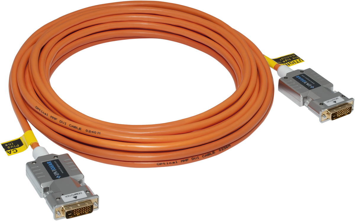 Fibre Optic Cables : Dvi hdmi fiber optic cables