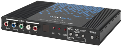 AV-PC to HDMI Converter / Scaler
