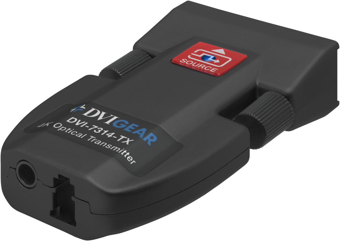 4k Sm Fiber Optic Extender 1x Lc