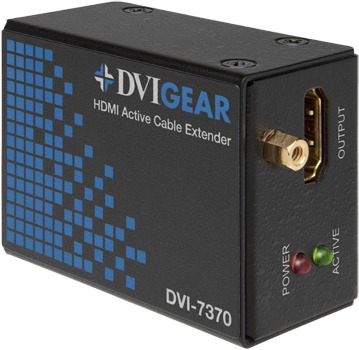 DVI Single-Link Active Cable Extender ™
