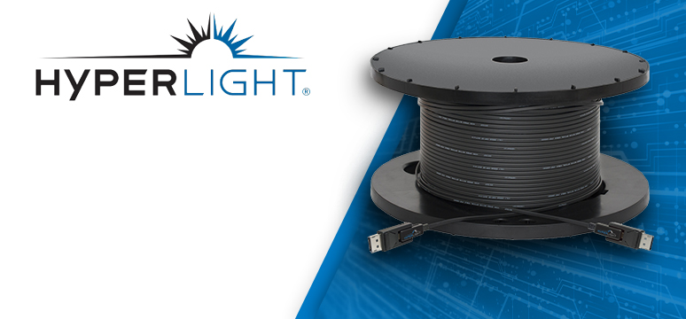 HyperLight Active Optical Cables deliver Mission Critical Video Extension