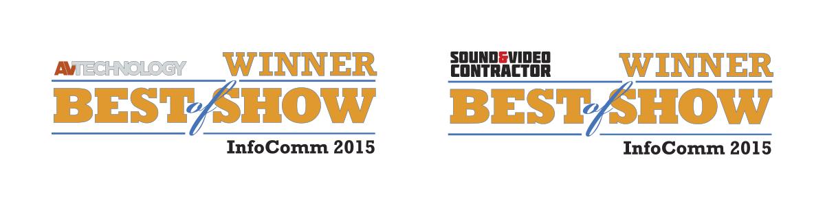 AVT and S&VC Best of Show InfoComm 2015