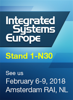 DisplayNet Family Featured at ISE 2018