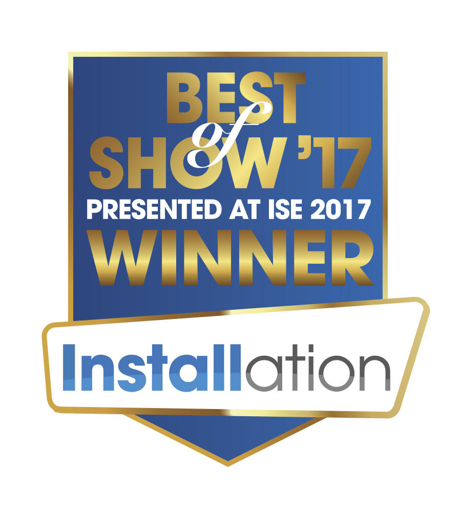 Installation Best of Show ISE 2017