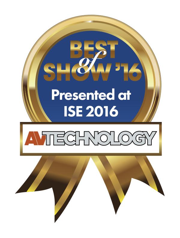AVT Best of Show ISE 2016